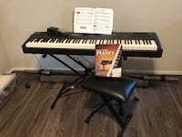 Allegro Williams Keyboard with stool, pedal and learning DVDs Arlington, 22202
