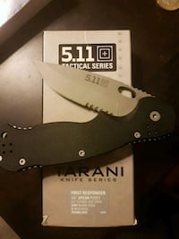 5.11 Tactical First Responder Utility Knife (new) 3726 km