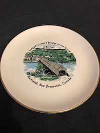 Longest coveted bridge in the world, Collector plate Toronto, M2J 2C4