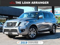 2018 NISSAN ARMADA SL 49845 KMS and 100% approved  Toronto