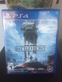 Sony PS4 Star Wars Battlefront game case Coquitlam