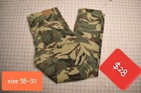 green and brown camouflage pants  Baltimore, 21229