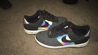 Black-and-rainbow nike Air Force 1's Clearwater, 33756