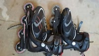 Roller Blades as 9 like new 417 mi