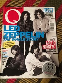 Q magazine featuring Led Zeppelin Toronto, M2M