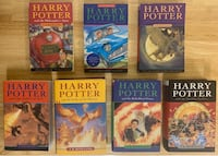 Harry Potter complete book set Edmonton, T6B 0H3