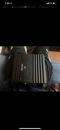 Amplifier and subwoofers 12