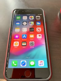 space gray iPhone 6 with red case Phoenix, 85042