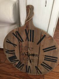 Wooden Paddle Clock (Pier One) North Wales, 19454