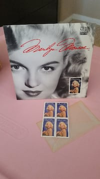 Marilyn Monroe Stamp Collection