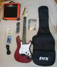 LyxPro Electric Guitar with accesories