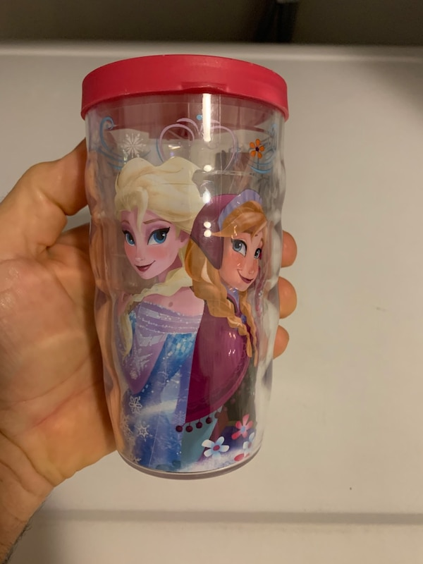 Frozen tervis mug with lid 0
