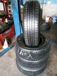 Semi new set of 4 tires P265/70/R17 BRAND GOODYEAR Long Beach, 90806