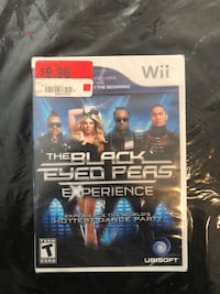 The Black Eyed Peas experience wii game