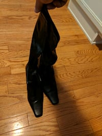 Womens black boots size 8 Leominster