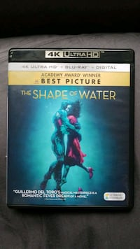 The Shape of Water 4k Blu Ray + Digital Code Fairfax, 22030