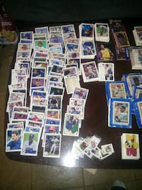 aassorted baseball trading card collection CALGARY
