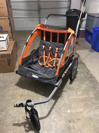 baby's black and orange stroller Germantown, 20874