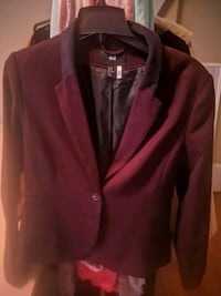 Burgundy women's blazer  Brantford