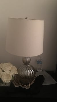 white and grey table lamp Toronto, M2J 1L3