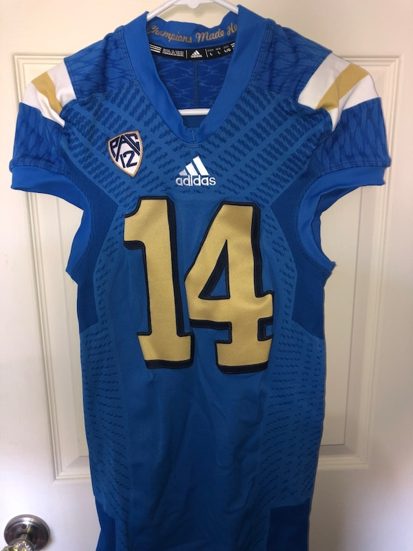 cheaper 4cec3 5a998 Authentic UCLA football game jersey (game worn, men's large,)
