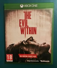 The evil whitin - XBOX ONE  6652 km