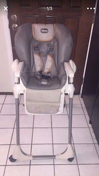 baby's gray and white high chair Alameda, 94502
