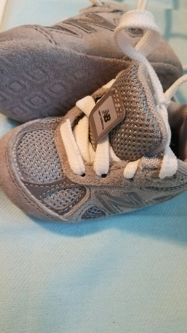 2 pairs....1 Black and 1Gray...BABY NEW BALANCE 2b2e07cc-64e4-4b36-915a-19a61d167bee