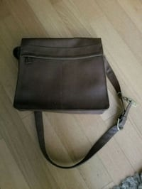 Vintage messenger bag high quality leather Vancouver, V6Z 2Z2