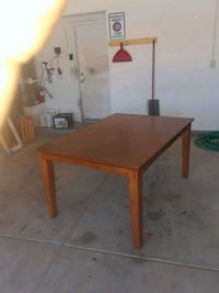 rectangular brown wooden table with chairs Las Vegas, 89130