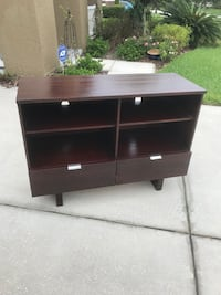 Entertainment stand with two drawers  Tampa, 33647