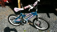 toddler's blue and pink bicycle 52 mi