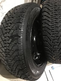 Goodyear winter tires with steel wheels Toronto