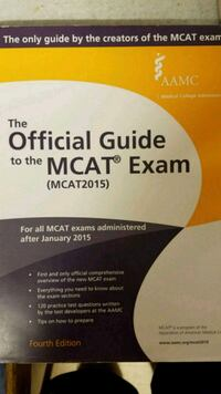 MCAT OFFICIAL GUIDE Bethesda