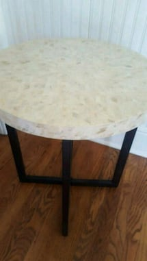 Pier 1 Mother of Pearl Accent Table