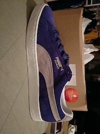 blue and white puma suede sneaker low Las Vegas, 89106