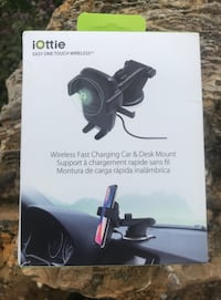 iOttie Easy One Touch Qi Wireless Fast Charge Car Mount *Brand New•  Price is not negotiable.   Annville, 17003