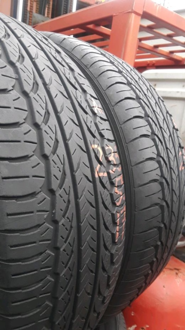 235/55-17 #2 tires  2