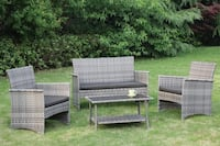 4 pcs Outdoor Patio Set Bakersfield, 93301