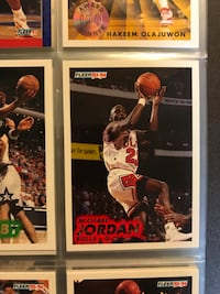 Basketball collection 25 years old:michael jordan basketball trading card McLean, 22102