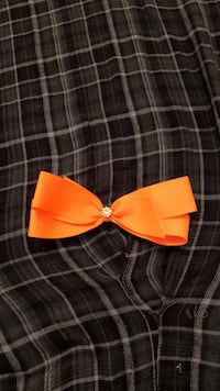 orange ribbon bow Spring, 77386