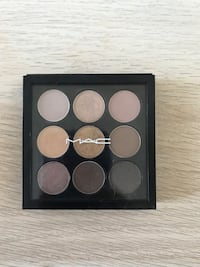 black and brown makeup palette 3758 km