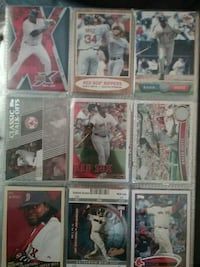 Red Sox MLB trading cards collection Beaver Dam, 53916
