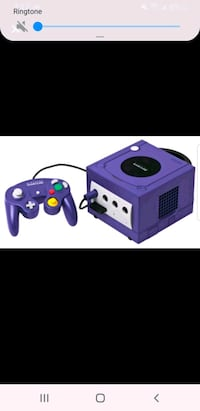 Gamecube with hookup cords and controller Brampton, L6T 4A8