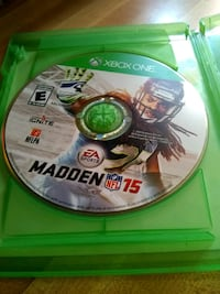 Madden NFL 15 Xbox One game disc Louisville, 40215