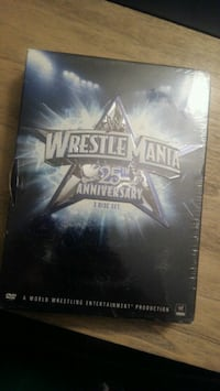 "Wrestlemania 25th anniversary ""negotiable "" Laval, H7T 2K4"