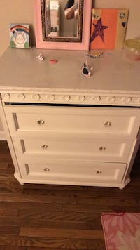 white wood dresser Reston, 20191