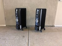 Space heaters 2x Tracy, 95304
