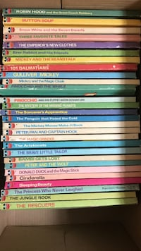 Walt Disney Wonderful World of Reading Vintage Hardcover 28 Books