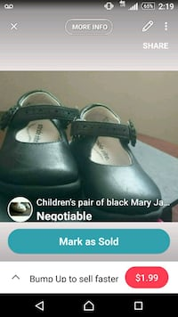 pair of black leather shoes screenshot Hilliard